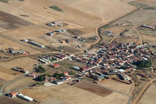 Vista aérea de Gallegos del Pan