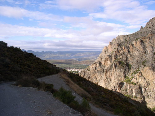 Niguelas from Mountain track