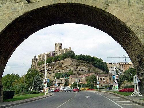 ESPAÑA  Entrada por C-1411, Manresa