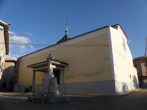 Vista de Iglesia Entrada trasera