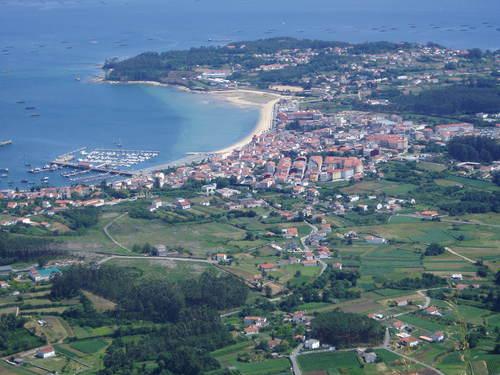 Foto aerea de Boiro
