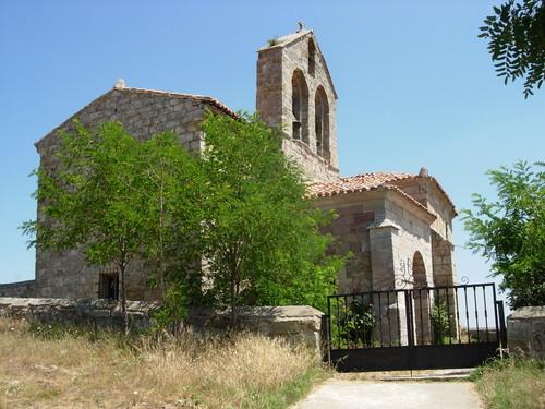 Lomilla de Aguilar perspectiva de La Iglesia