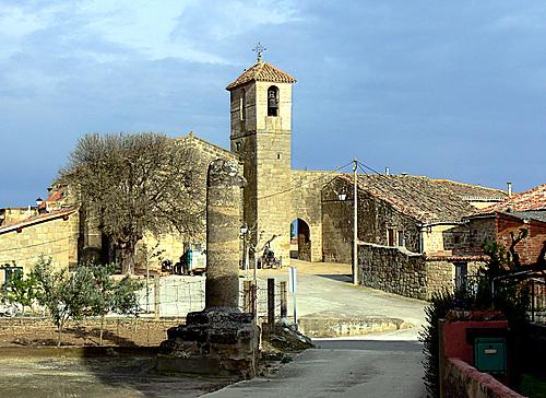 VILLASECA (Aldea de Fonzaleche). La Rioja. 2007. 03. Iglesia románica de San Román.