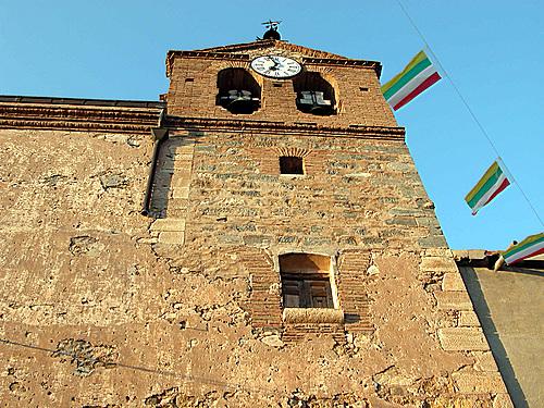 VENTAS BLANCAS (Municipio de Lagunilla del Jubera-La Rioja). Iglesia de la Santa Cruz.