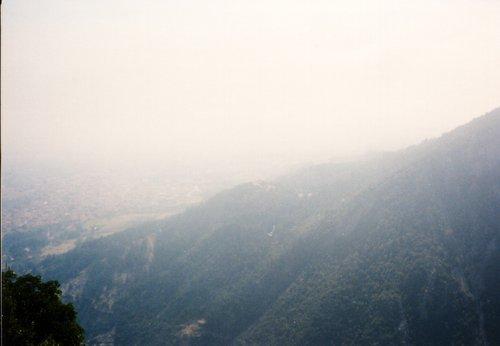 Napfelkelte a Pireneusokban.