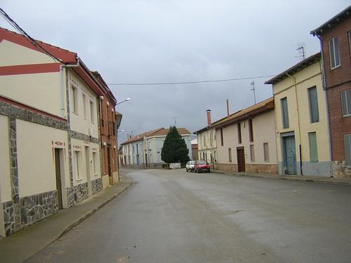 Calle de Santa Águeda en San Cristóbal de la Polantera