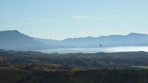 Vista desde Badaguás, Huesca