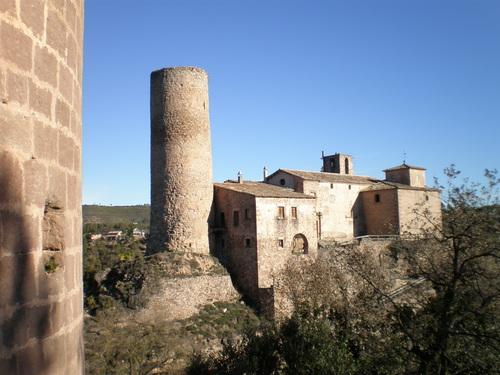 """castell de Fals """"Torres de Fals"""""""