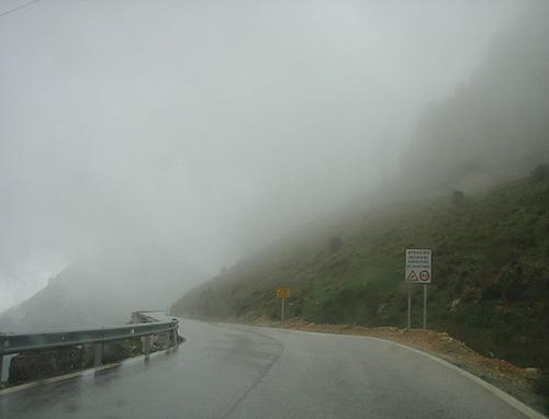 Downhill southbound from Ventas de Zafarrayas