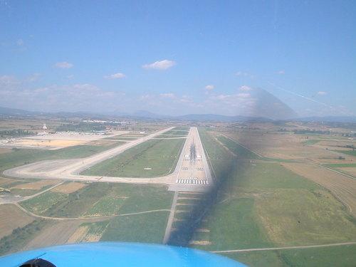 Vitoria airport Spain