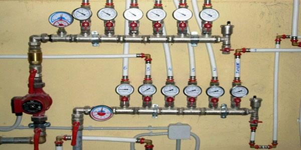 Коллекторная (лучевая) система водяного отопления.