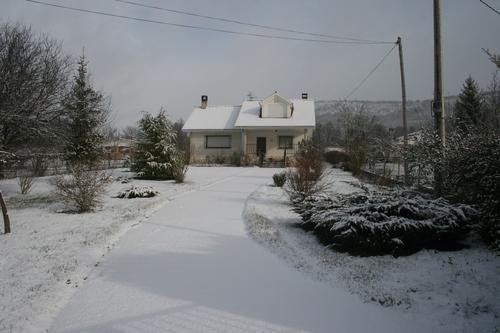 Tras la nevada