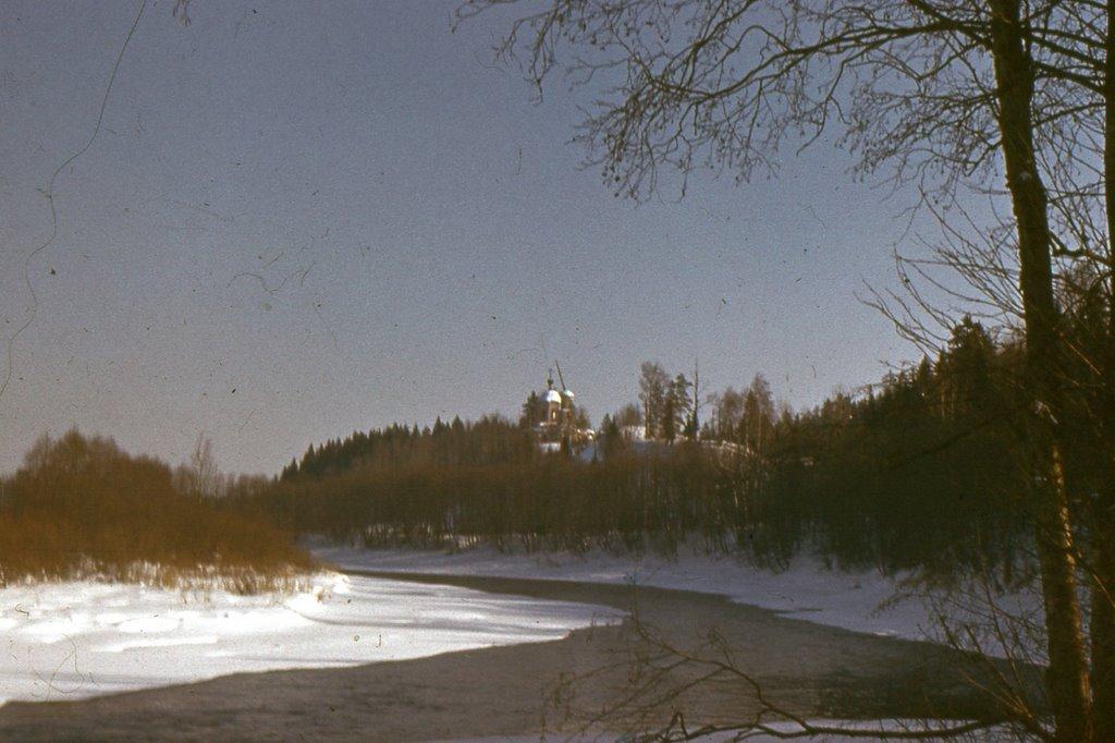Горышено городище - зима 1978