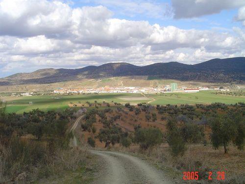 La Morera desde sierra Maria Andrés