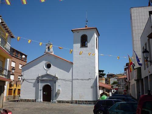Pinofranqueado (Las Hurdes) - iglesia Nª Sra de la Encina [ago 08]