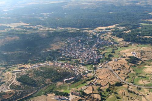 Vista aérea de Hoyos del Espino