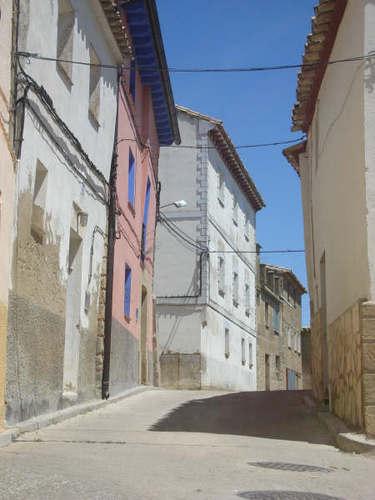 Street in Sierra de Luna
