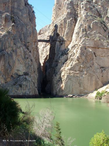Desfiladero de los Gaitanes,Camino del Rey,El Chorro, Ardales, Málaga, Spain.