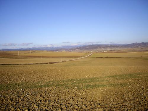 Camino de Tabar a SanVicente