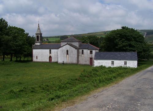 Capela de San Cosme da Montaña.