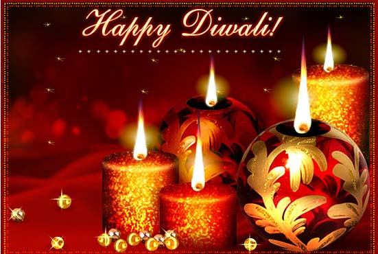Beautiful Diwali Candles Images