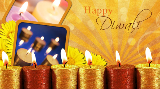 Beautiful Diwali Candles Pictures