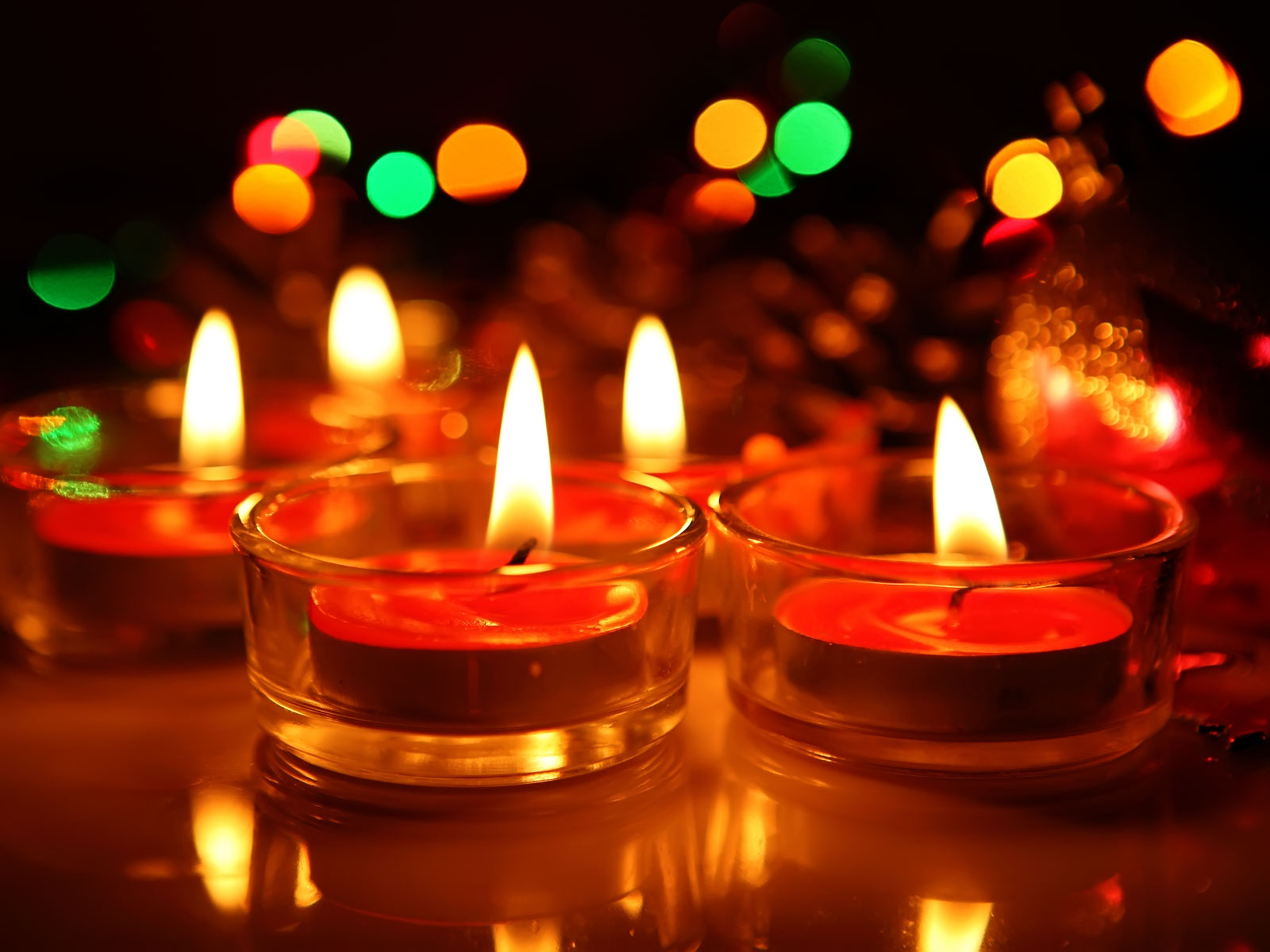 Awesome Diwali Candles Pictures