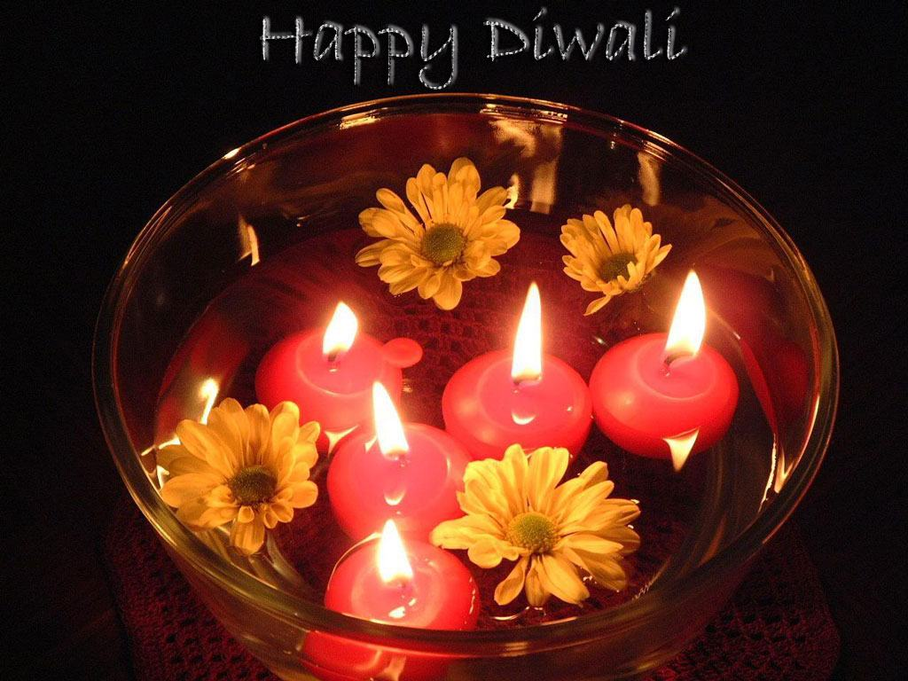 Awesome Diwali Candles Images