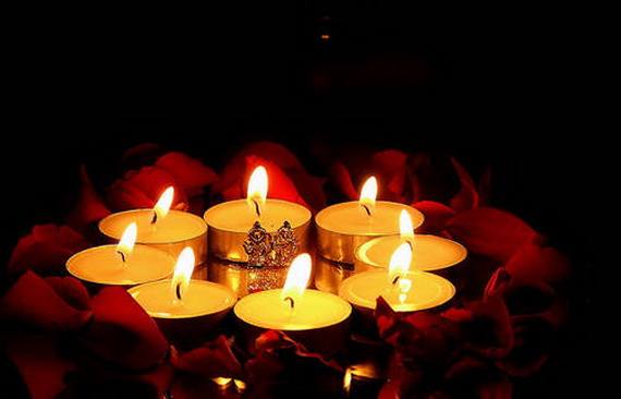 Diwali Candle Pics for Whatsapp