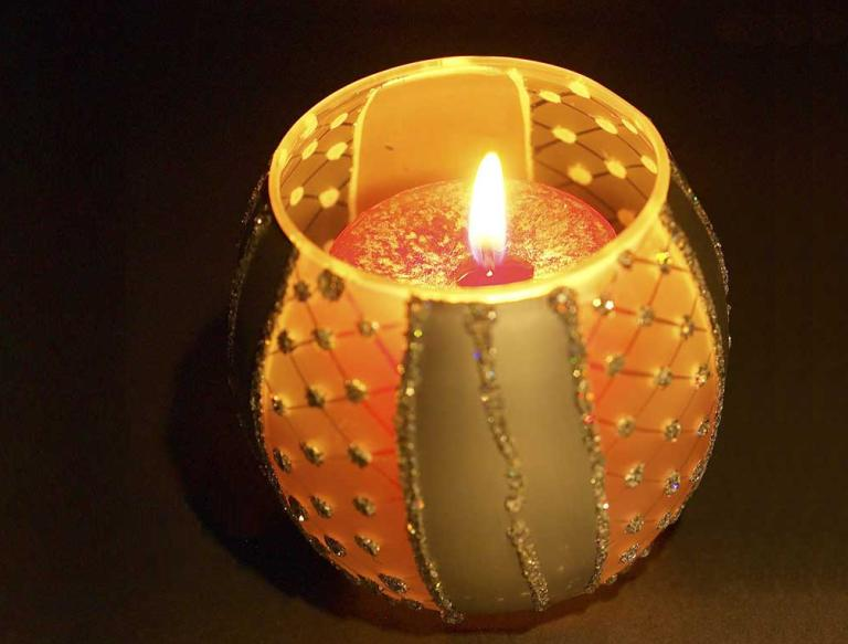 Amazing Diwali Candles lights hd Pictures
