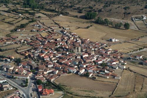 Vista aérea de Iglesia de Muñana