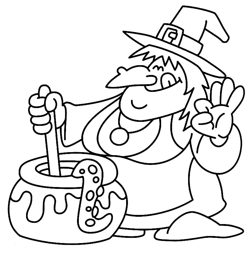 halloween coloring pictures for kids
