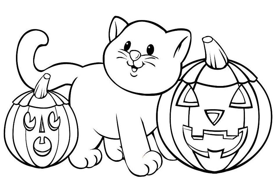 halooween pics for colorings