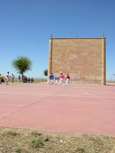 Juego Pelota a mano en La Vellés - Salamanca - España