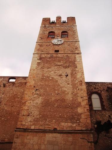 Mont-roig del Camp, torre del rellotge (12-2008)