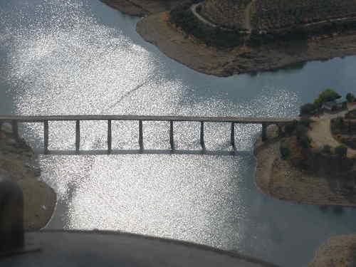 Most w La Pesga (El pu