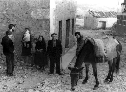 los abuelos de Jesús Moreno Barrena , en setiembre de 1971