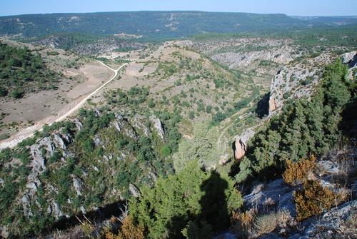 La Hoz de Megina desde el cerro