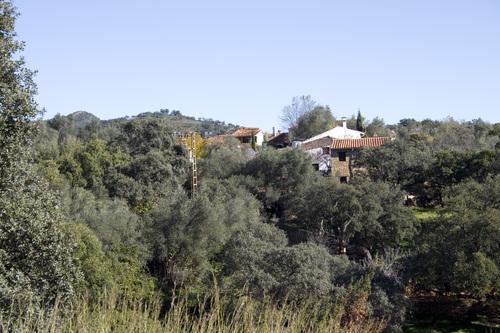 Aldea del Cabezuelo desde la carretera