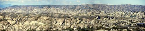 Desierto desde Gador