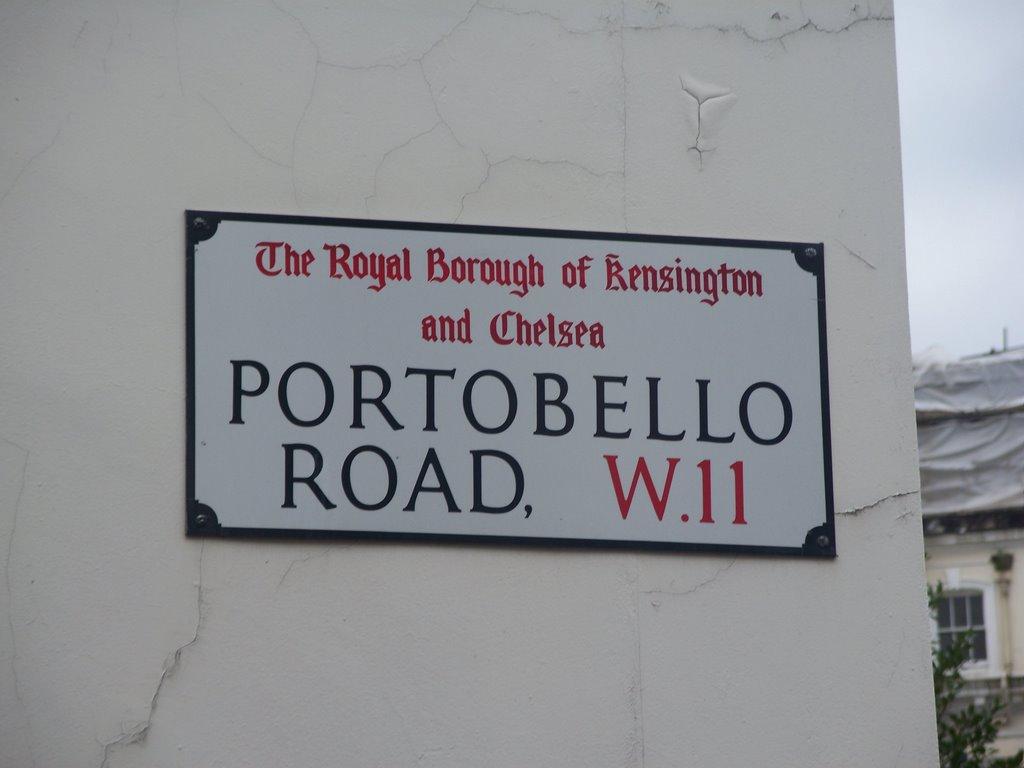 Portobello Road, Royal Borough of Kensington and Chelsea