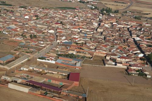 Vista aérea de Manganeses de la Lampreana