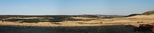 Panorama from Balbacil facing Northeast
