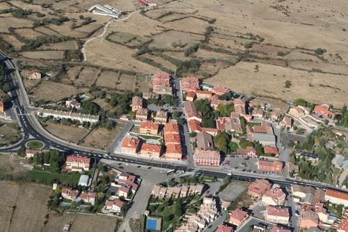 Vista aérea de Torrecaballeros