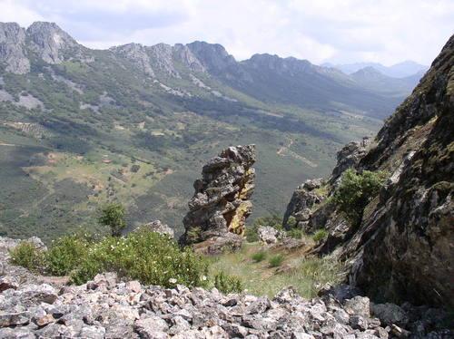 Valle del Almonte desde Cabañas