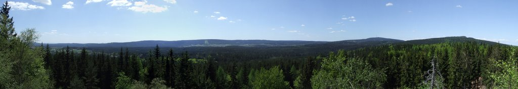 Panorama am Prinzenfelsen