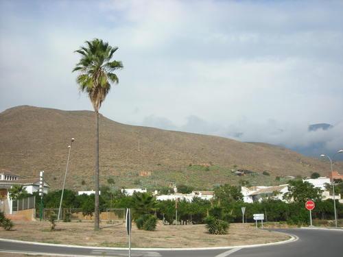Rotonda hacia Alcaudique. Octubre de 2006