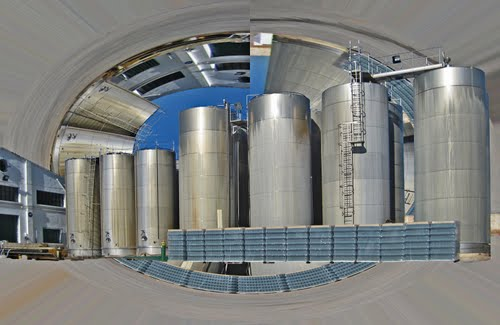 Mollina Spain Vinery Vats Photoshopped