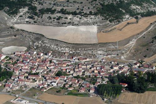 Fotografía aérea de Laguna de Contreras