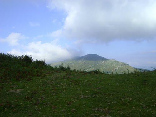 ibio desde el monte mazcuerras